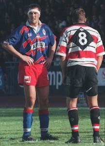 Roumat, une des premières stars... du PSG Rugby !