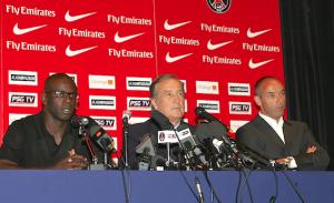 Thuram, Villeneuve et Le Guen, héros d'un conférence de presse hors norme...
