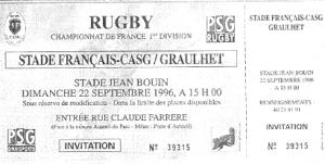 le PSG, partenaire commercial du Stade Français