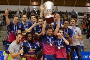 Paris Volley, champion européen en 2014