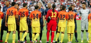 le FC Barcelone, dauphin de Benfica