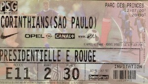 le ticket du match