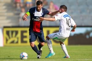 la dernière défaite du PSG pour capitaine Thiago Motta en 2013