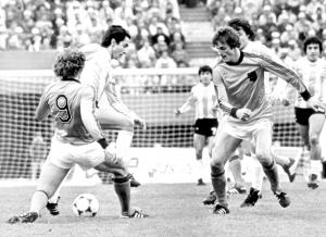 Champion du monde avec l'Argentine en 1978