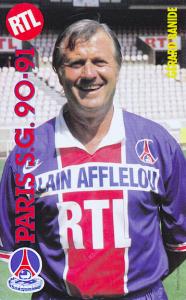Gérard Banide lors de la saison 1990-1991
