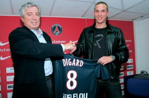 Signature de Digard le 3 juillet 2007
