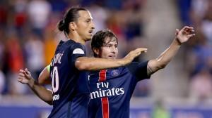 la joie des Parisiens face à la Fiorentina