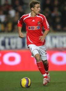 les premiers pas de David Luiz en Europe