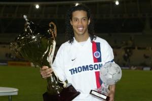 le seul trophée remporté par Ronnie avec le PSG...
