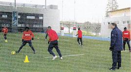 le PSG à Marcoussis en 2006