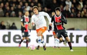 Stambouli avec Montpellier face au PSG
