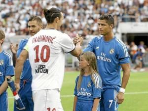 le choc Ibra-Ronaldo en 2014 à Doha