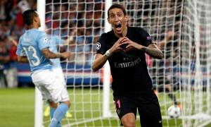 le premier but de Di Maria contre Malmö la saison dernière