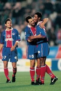 Leonardo, Anelka et Roche en 1996