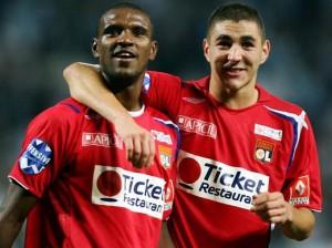 Lyon en 2006-2007, avec Abidal et un jeune Benzema