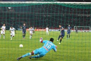 le penalty transformé par Thiago Silva