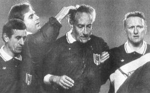 la blessure du juge de ligne à Toulon