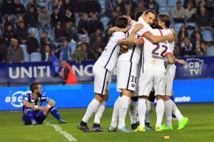 un 11eme match consécutif à l'extérieur sans défaite pour le PSG ce soir à Rennes ?