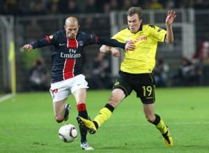 Jallet au duel face à Dortmund