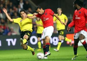 Dortmund le seul club pas battu par le PSG au Parc des Princes