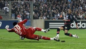Hoarau face aux buts adverses