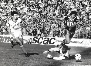 Susic à Marseille (0-0) lors de la saison 1985-1986