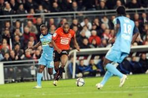 le derby Brest-Rennes en 2010-2011