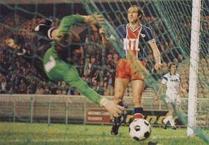le record de buts inscrits contre Troyes il y a 40 ans : 8-2, score final