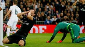 Cavani inefficace et le PSG battu à Madrid : fin de série pour les Parisiens