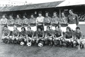 le PSG 1971-1972 qu débute en première division