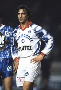 le record pour le PSG de Ginola en 1993-1994...