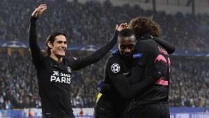 Matuidi félicite Rabiot : deux des buteurs les plus rapides pour le PSG à l'extérieur en Europe