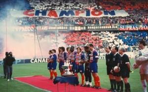37 matches sans défaite pour le PSG 1993-1994