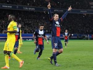 Nantes, le pire bilan face à Paris, série en cours