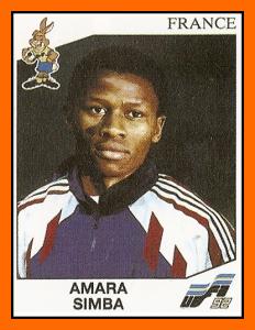 le sticker de Simba pour l'Euro 1992...