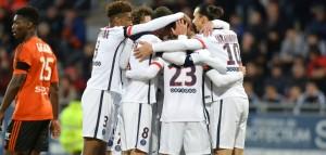 Paris victorieux à Lorient avant d'égaler le record ce soir face à Angers ?