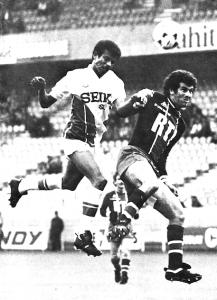 1980, Dahleb et Tigana en duel dans un Parc quasiment vide...
