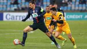 10 buts en seulement 8 matches pour Ibra en Coupe de France...