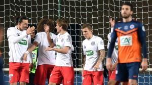 lors du dernier match, le PSG s'était imposé facilement à Montpellier