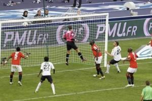 l'erreur de Coupet contre Lille à 2011