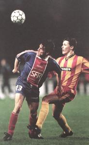 Laurent Fournier en duel