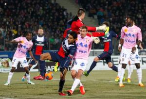 la première défaite face à Evian TG en 2013