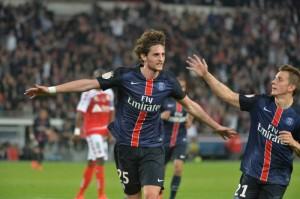 Rabiot contre Reims en 2015-2016