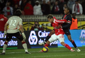 Paris vaincu par le Benfica d'un certain... David Luiz