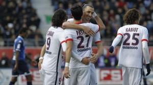 la joie des Parisiens après le record 9-0 à Troyes la saison dernière
