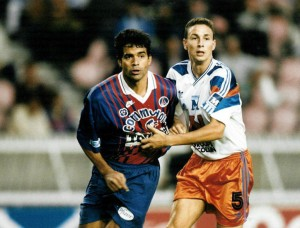 Raï, buteur pour ses débuts au PSG face à Montpellier