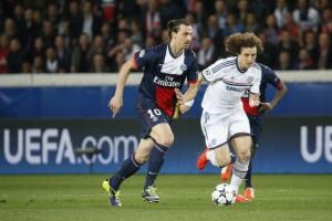 Ibra devant... David Luiz
