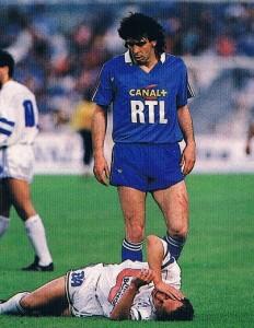 le PSG de Bibard victorieux de l'OM de Papin en 1988
