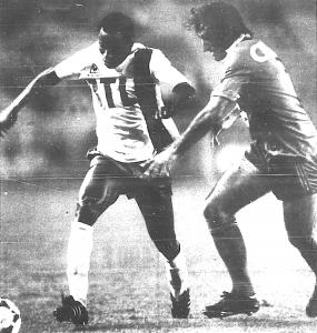 Boubacar en action