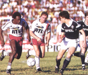 PSG-Bordeaux en 1987